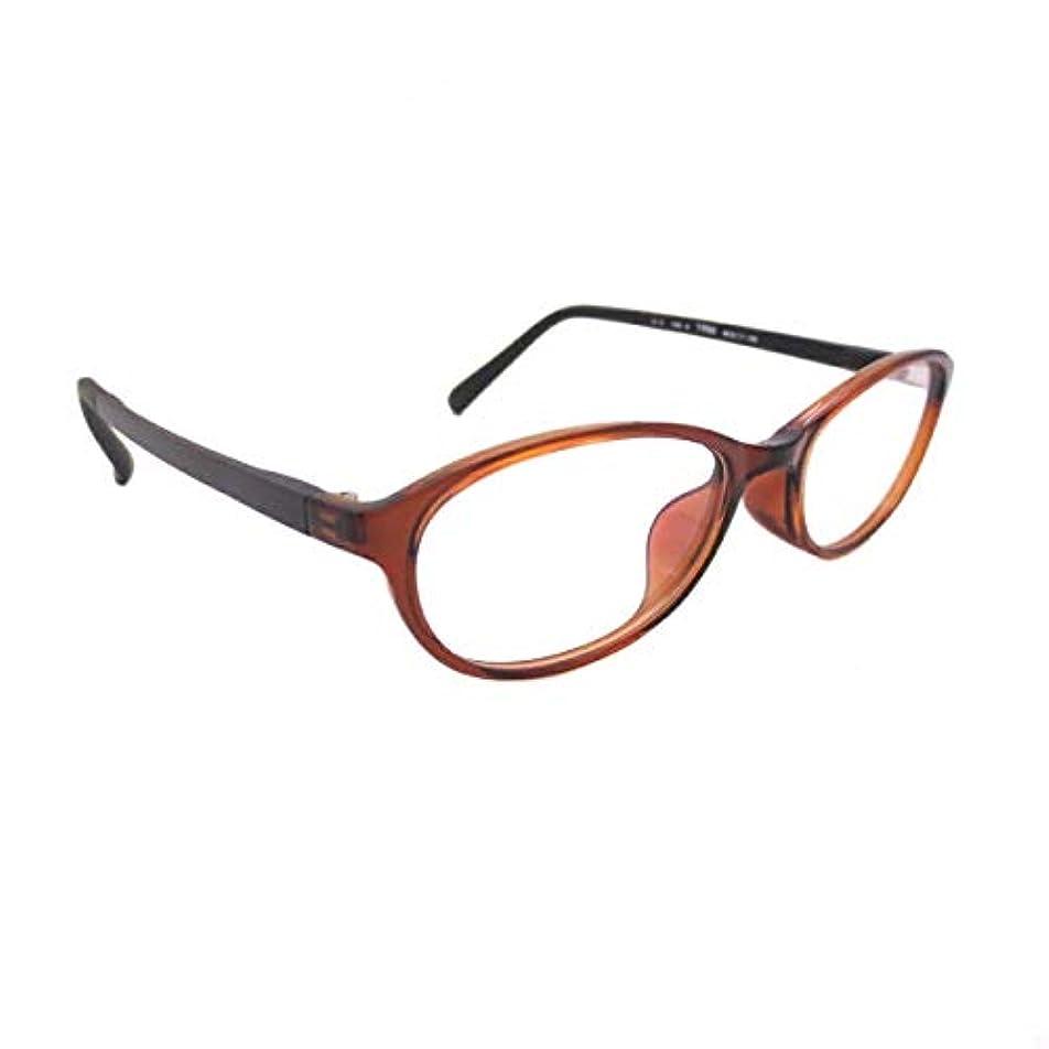 ブルーライト老眼鏡 パソコン老眼鏡 PCメガネ セミオーダー TR763-03-49