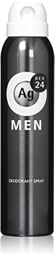 傾斜バレーボール無効にするエージーデオ24 メンズ デオドラントスプレー 無香性 100g (医薬部外品)