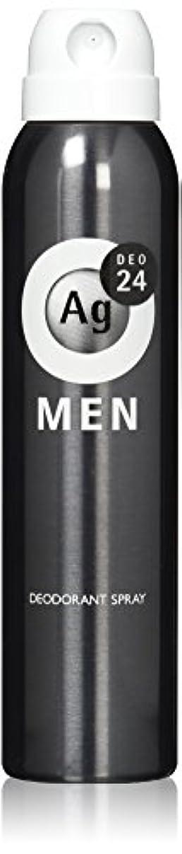 エネルギー丈夫雑草エージーデオ24 メンズ デオドラントスプレー 無香性 100g (医薬部外品)