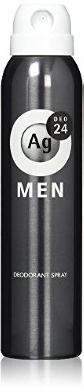 ガード許容コントラストエージーデオ24 メンズ デオドラントスプレー 無香性 100g (医薬部外品)