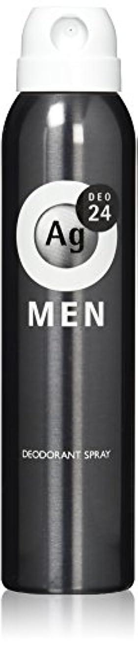 見捨てるクレジット微視的エージーデオ24 メンズ デオドラントスプレー 無香性 100g (医薬部外品)