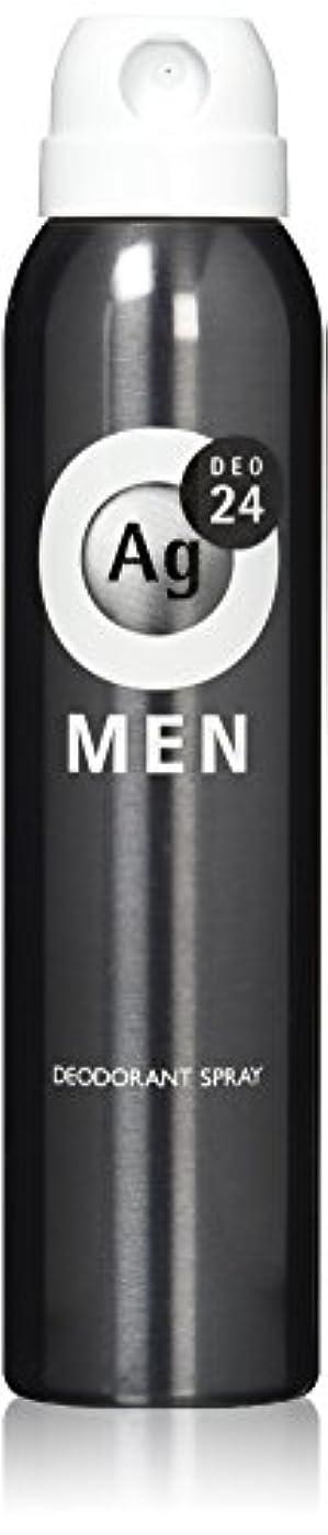 有力者交通ポーチエージーデオ24 メンズ デオドラントスプレー 無香性 100g (医薬部外品)