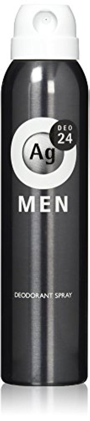 追い越す感じへこみエージーデオ24 メンズ デオドラントスプレー 無香性 100g (医薬部外品)