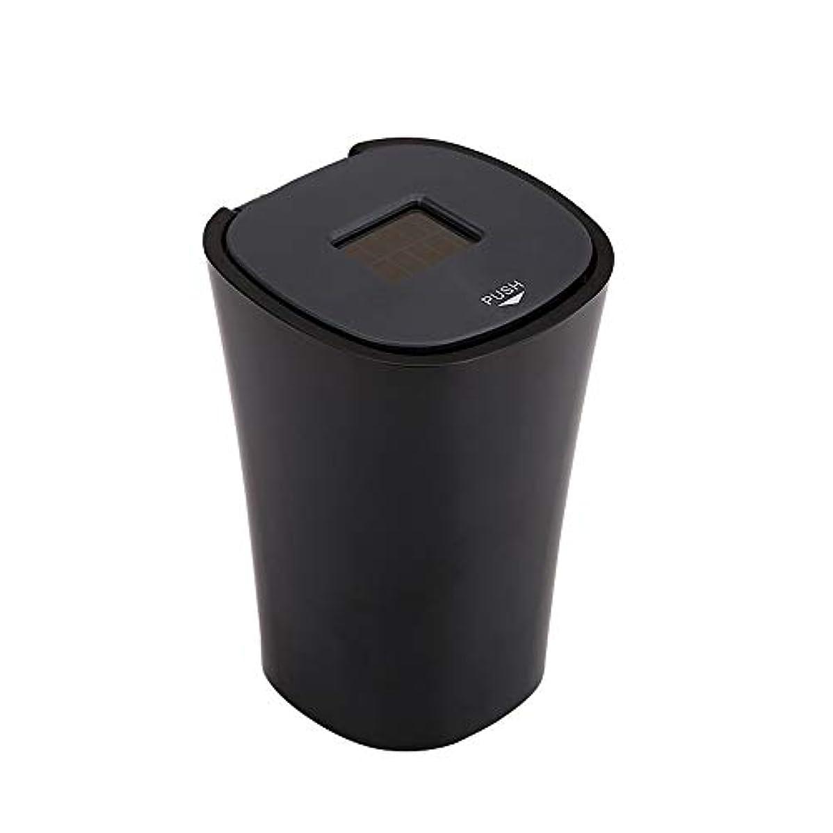 チチカカ湖雑草韻LEDライト付きカー灰皿多機能ユニバーサルクリエイティブカー灰皿個性は車の用品をカバー