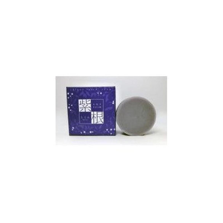 安全でない尊敬する航海の紫根エキスをたっぷり配合した洗顔石鹸 紫根石鹸 100g×5個セット