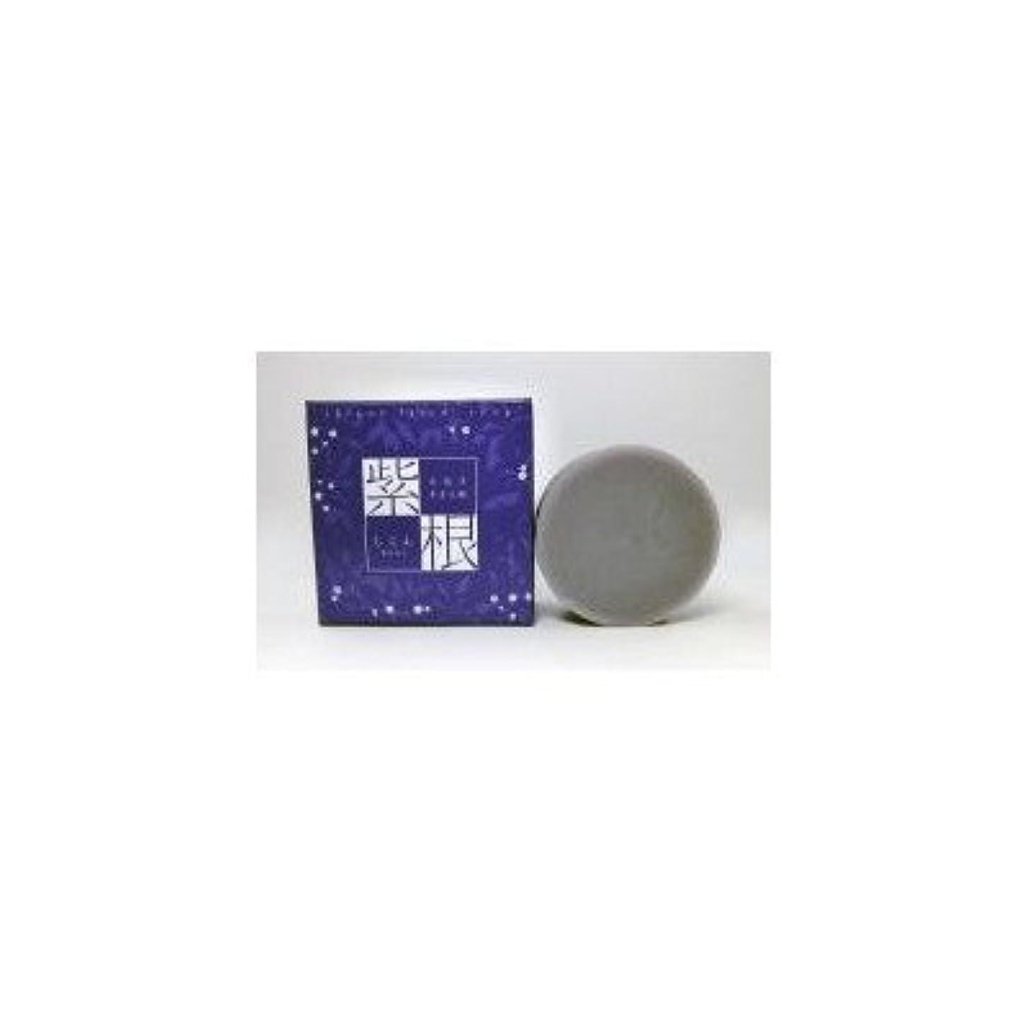 ソファー宿従順な紫根石鹸 100g×5個セット