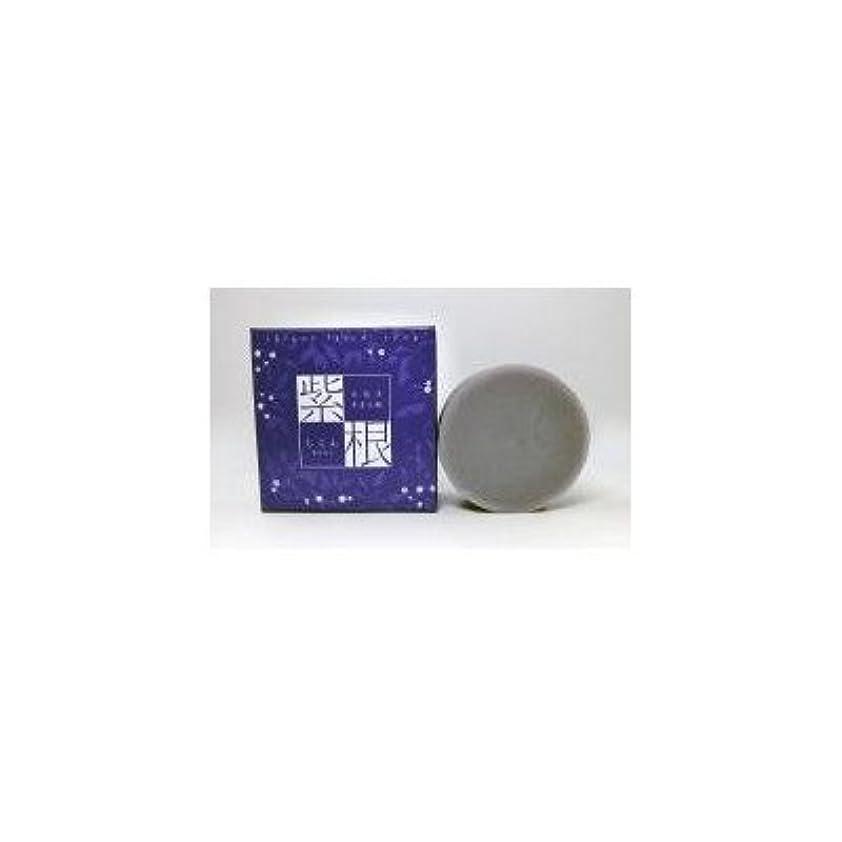 シャット答え持ってる紫根エキスをたっぷり配合した洗顔石鹸 紫根石鹸 100g×5個セット