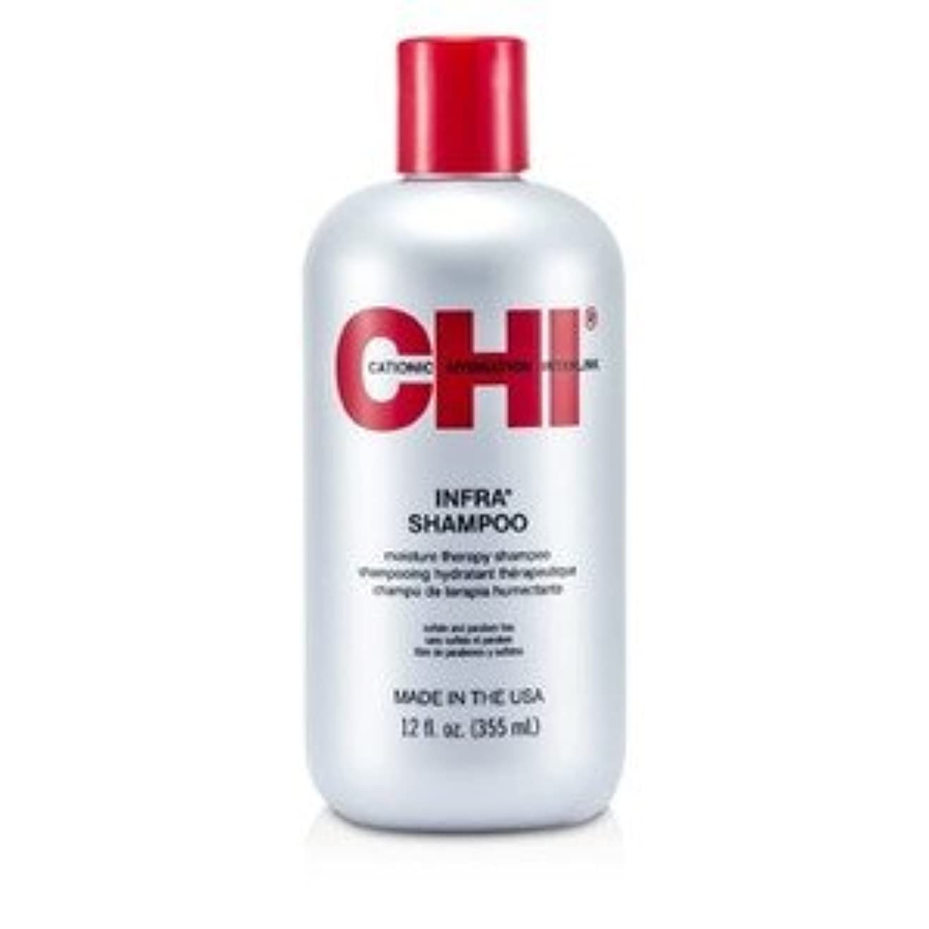復讐密接に感情CHI Infra Moisture Therapy Shampoo 350ml/12oz [並行輸入品]