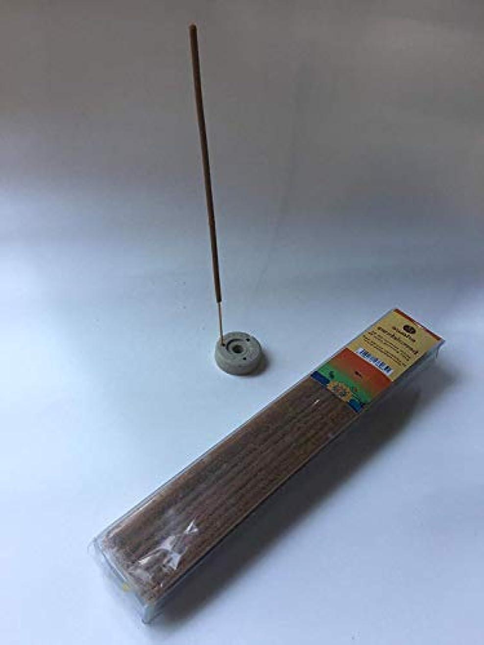 理想的には練習したフクロウSwaha 10035 Sandalwood Agarbatti (24 cm x 3.99 cm x 2.01 cm, Set of 35, Brown)