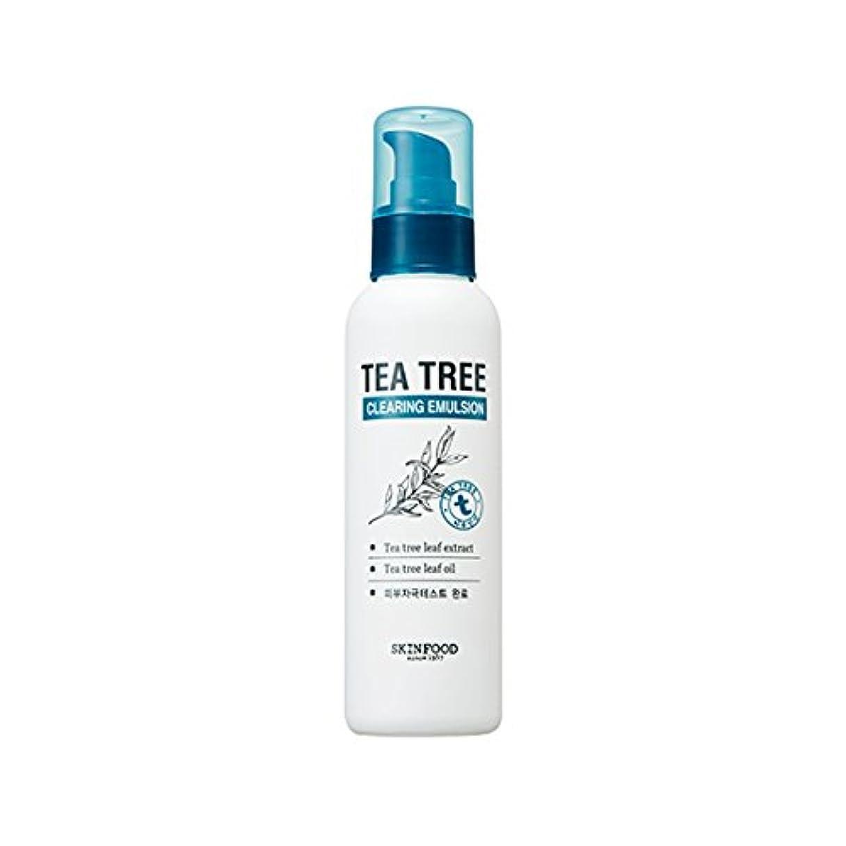 ストリーム人間即席SKINFOOD Tea Tree Clearing Emulsion 135ml/スキンフード ティーツリー クリアリング エマルジョン 135ml [並行輸入品]