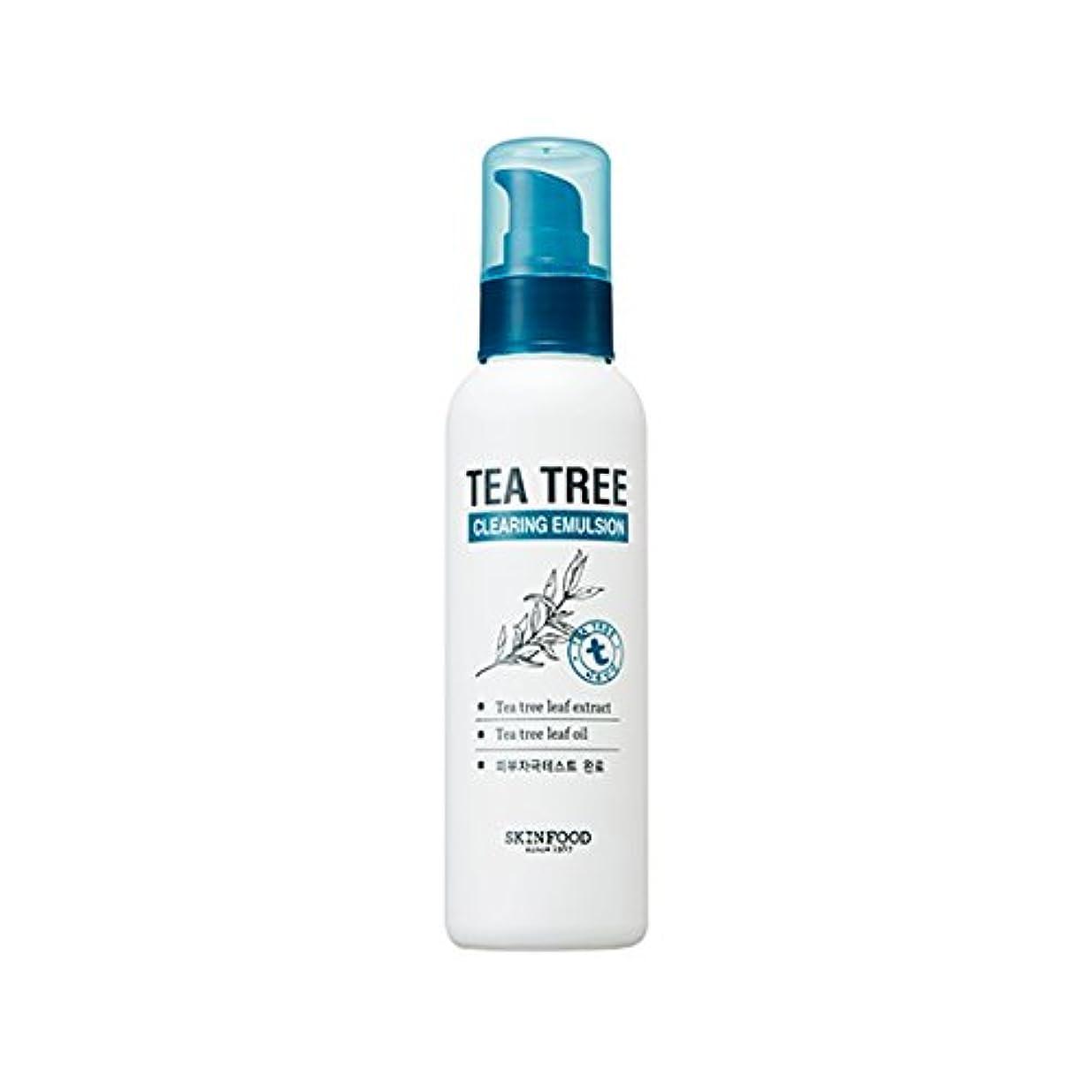 アーサーコナンドイル登録登山家SKINFOOD Tea Tree Clearing Emulsion 135ml/スキンフード ティーツリー クリアリング エマルジョン 135ml [並行輸入品]