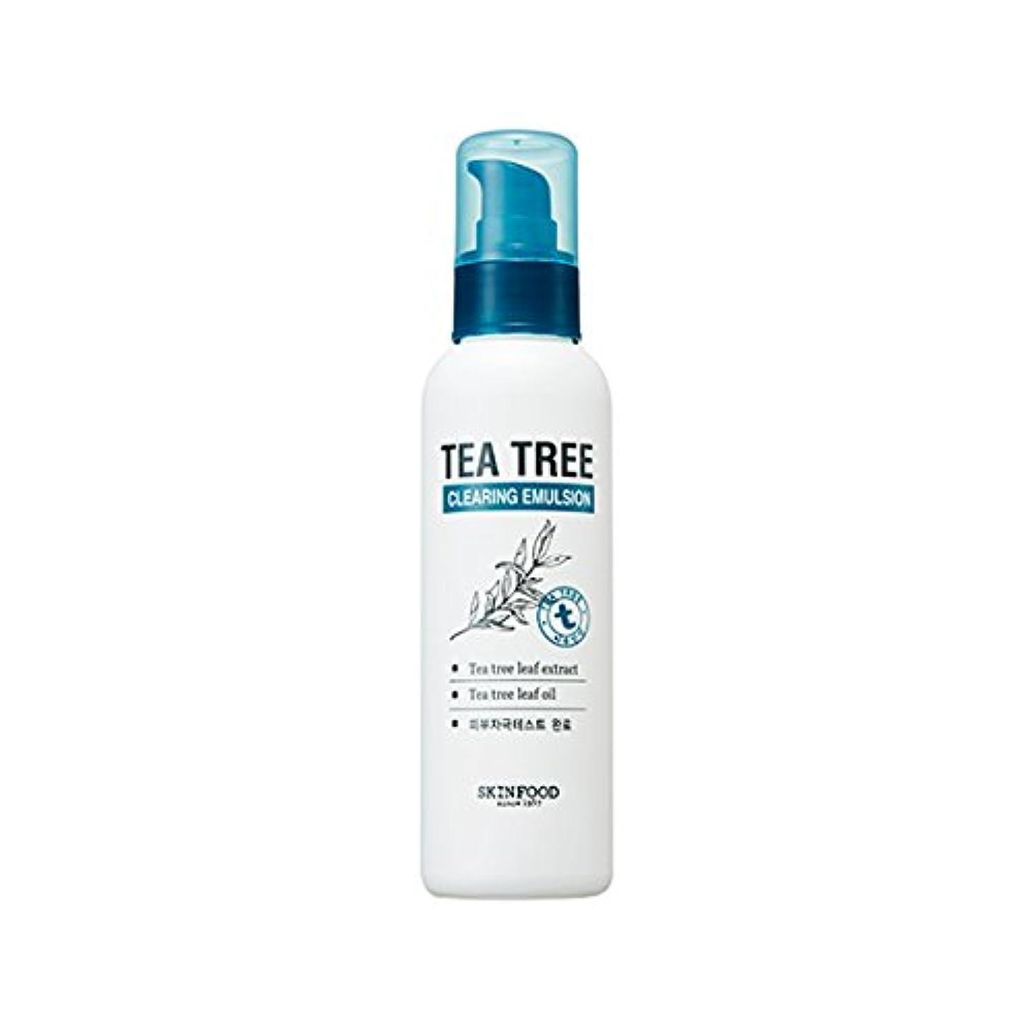 とんでもない突き出す圧力SKINFOOD Tea Tree Clearing Emulsion 135ml/スキンフード ティーツリー クリアリング エマルジョン 135ml [並行輸入品]
