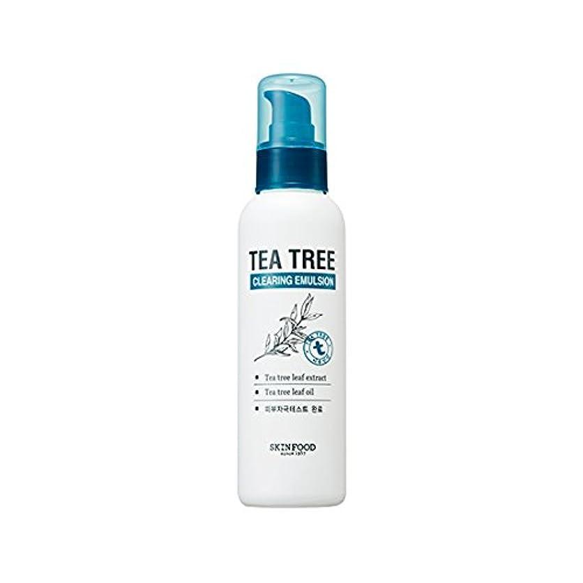 コア補足紀元前SKINFOOD Tea Tree Clearing Emulsion 135ml/スキンフード ティーツリー クリアリング エマルジョン 135ml [並行輸入品]