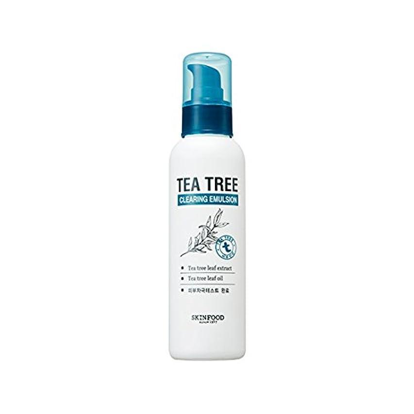 スキム美徳請求SKINFOOD Tea Tree Clearing Emulsion 135ml/スキンフード ティーツリー クリアリング エマルジョン 135ml [並行輸入品]