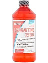 MET-Rx - Lカルニチンの液体の 1500 自然なスイカ - 16ポンド