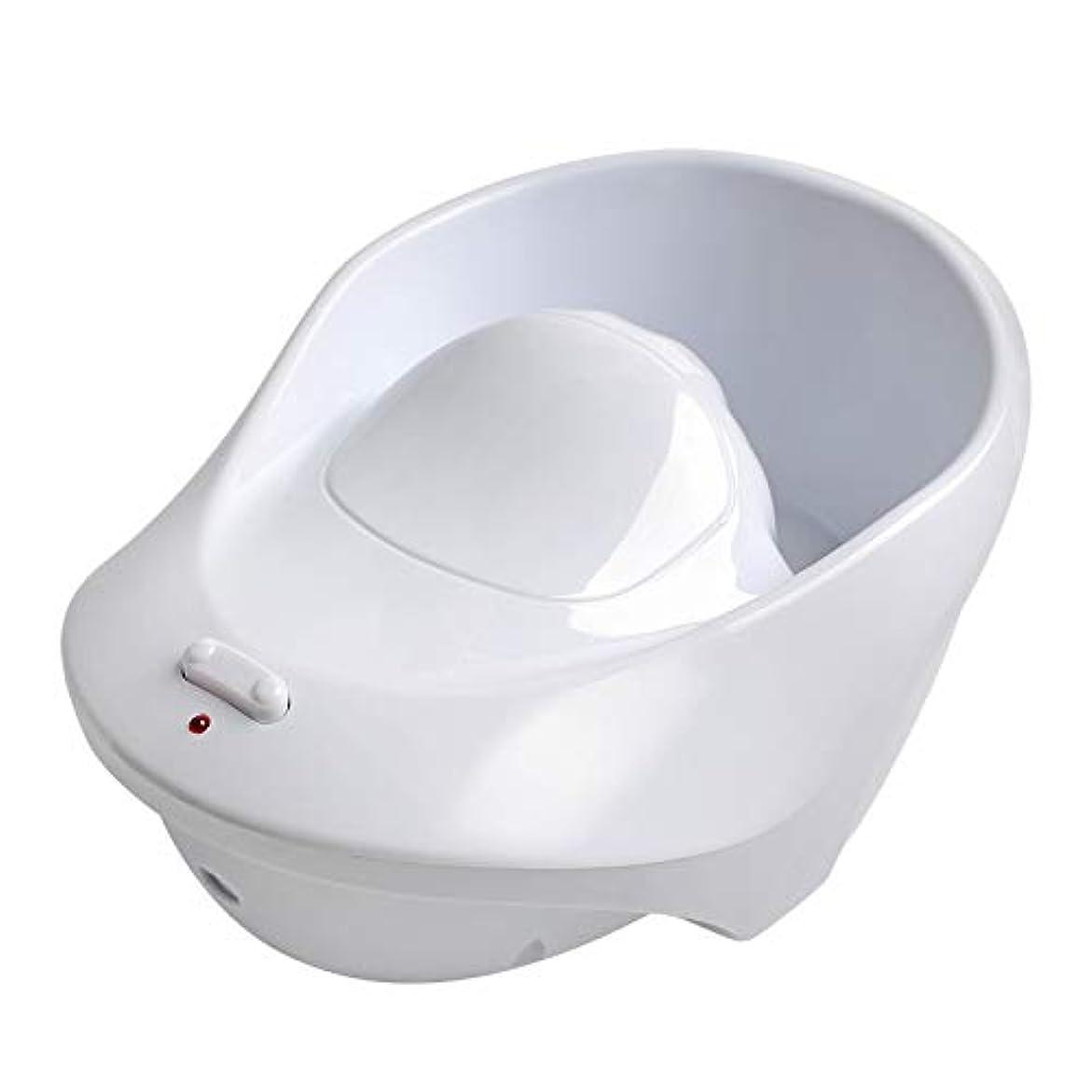 マニキュア、マニキュア指のネイルアート治療リムーバー洗浄ツール用のボウル空気泡洗浄機オフ電気ソーク