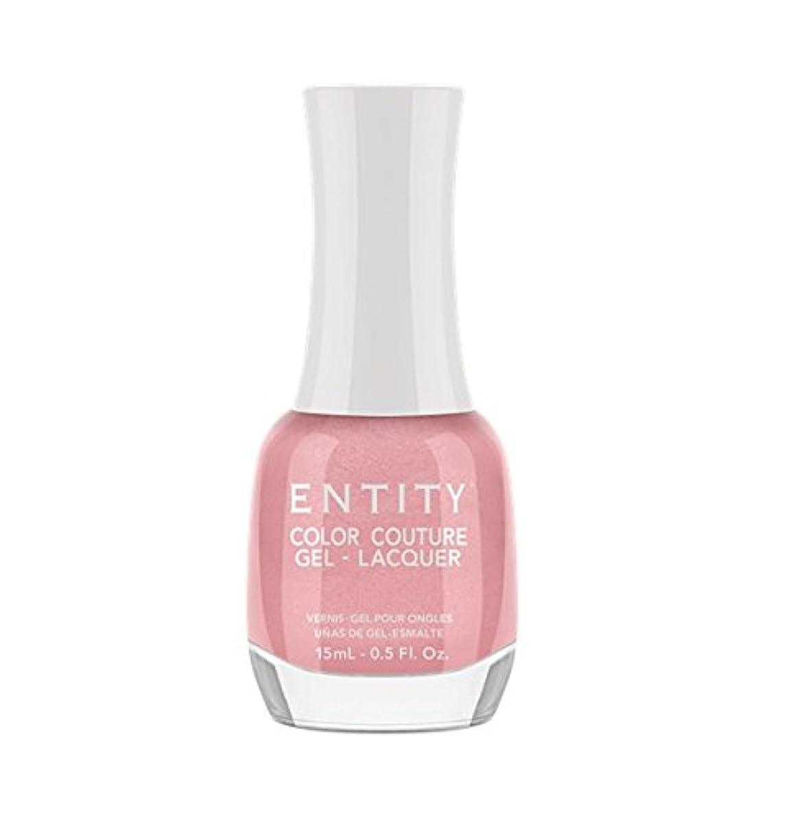 雇用宙返りリーフレットEntity Color Couture Gel-Lacquer - Blushing Bloomers - 15 ml/0.5 oz