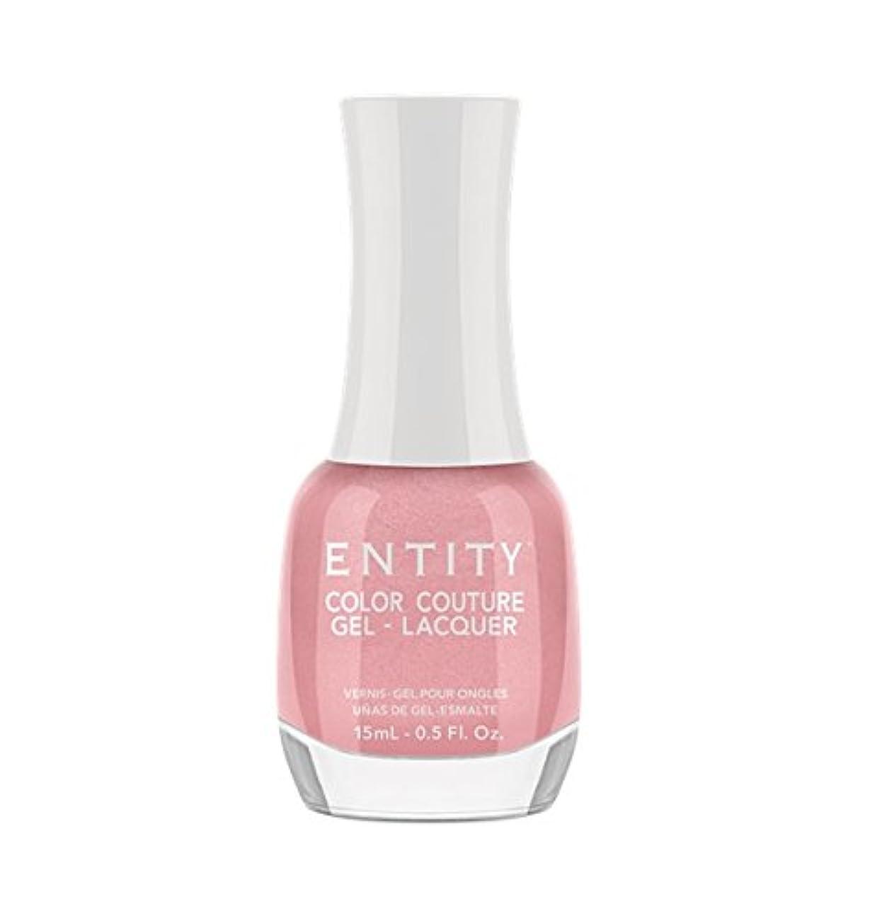蓮悪用怠感Entity Color Couture Gel-Lacquer - Blushing Bloomers - 15 ml/0.5 oz