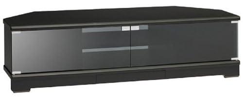 ELECOM TVスタンド WDLシリーズ W1150 扉付 ブラック PDR-WDL1150BK
