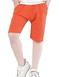 e9fc71913e207 Amazon.co.jp  オレンジ - ショートパンツ・ハーフパンツ   ボーイズ  服 ...