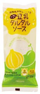 オーサワの豆乳タルタルソース 100g×3個          JAN:4932828067735