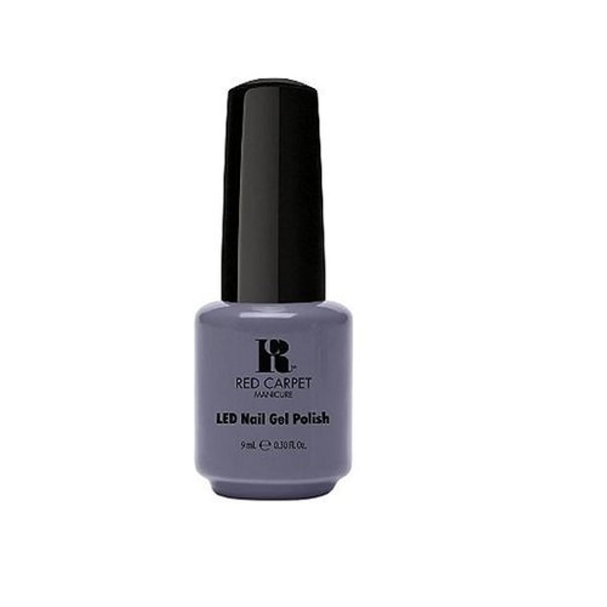 受け入れる散歩キュービックRed Carpet Manicure - LED Nail Gel Polish - Unscripted - 0.3oz / 9ml