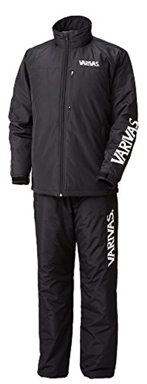 玉ねぎ足実用的VARIVAS(バリバス) ウォームスーツ VAAW-22 ブラック/ホワイト L.