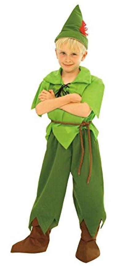 偽善者ボウル量でディズニー ピーターパン キッズコスチューム 男の子 100cm-120cm