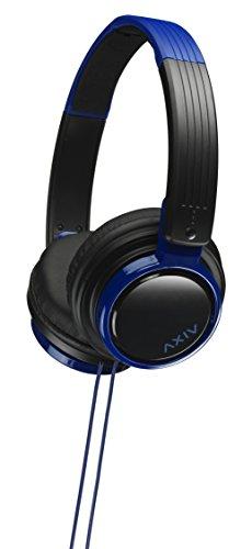 JVC HA-S200-BA 密閉型ヘッドホン 折りたたみ式 DJユースモデル ブラック&ブルー