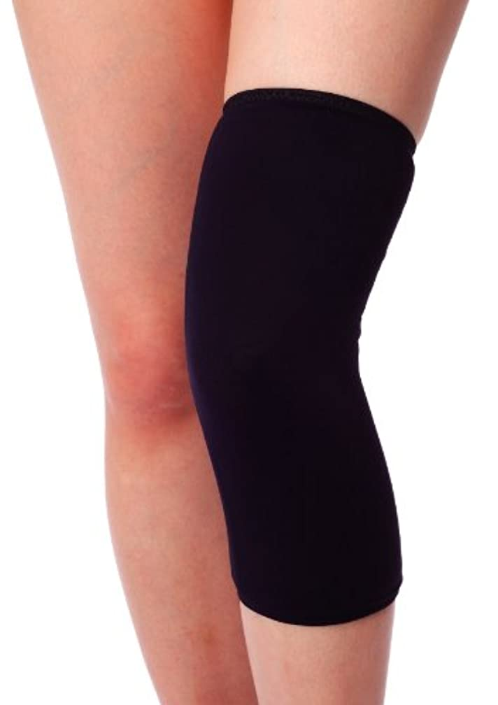 保険をかける期待リフトbonbone 発熱ウォーマー ひざ用 ブラックL