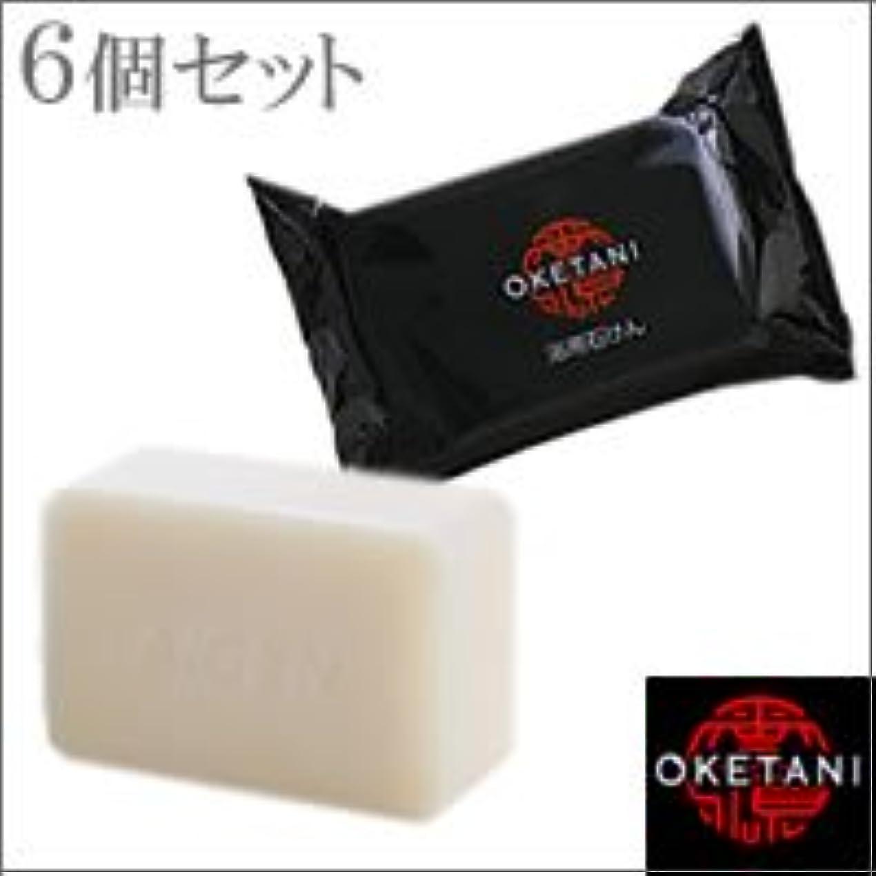 恋人オークション吸収するitem_name:桶谷石鹸 アイゲン 浴用石けん 120g×6個