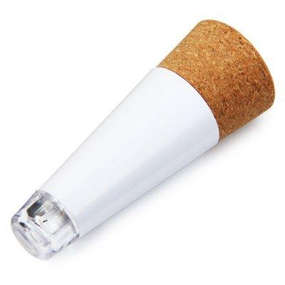サックコルク形充電式ボトルライトLEDストッパーは電球に空き瓶をオン