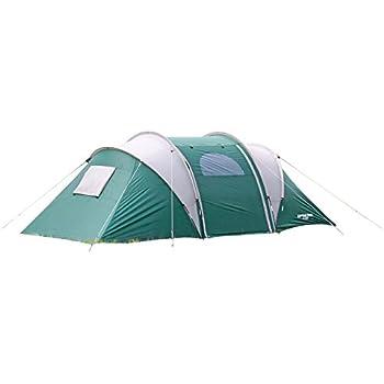 キャプテンスタッグ(CAPTAIN STAG) キャンプ用品 テント 【4人用】 CS 3ルームドームテント キャリーバッグ付 UV加工 UA-15