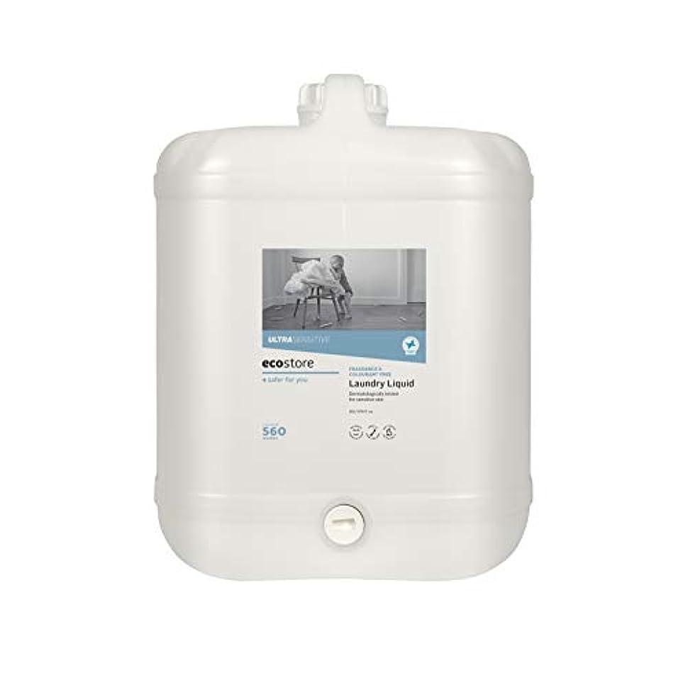 直接優れましたエゴマニアecostore(エコストア) ランドリーリキッド <無香料> バルク 20L