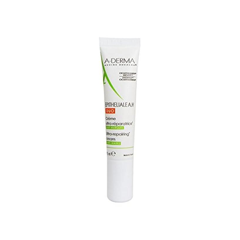 A-derma Epitheliale Ah Duo Repair Cream 15ml [並行輸入品]