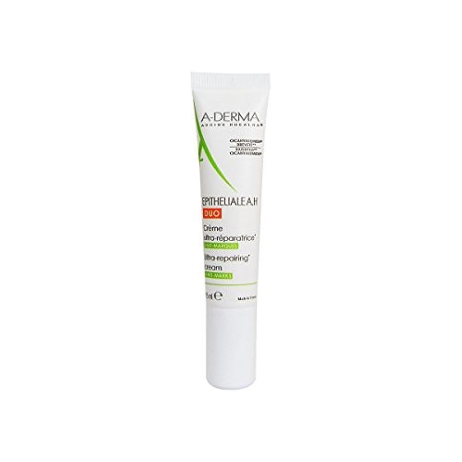 弱点いじめっ子不良品A-derma Epitheliale Ah Duo Repair Cream 15ml [並行輸入品]