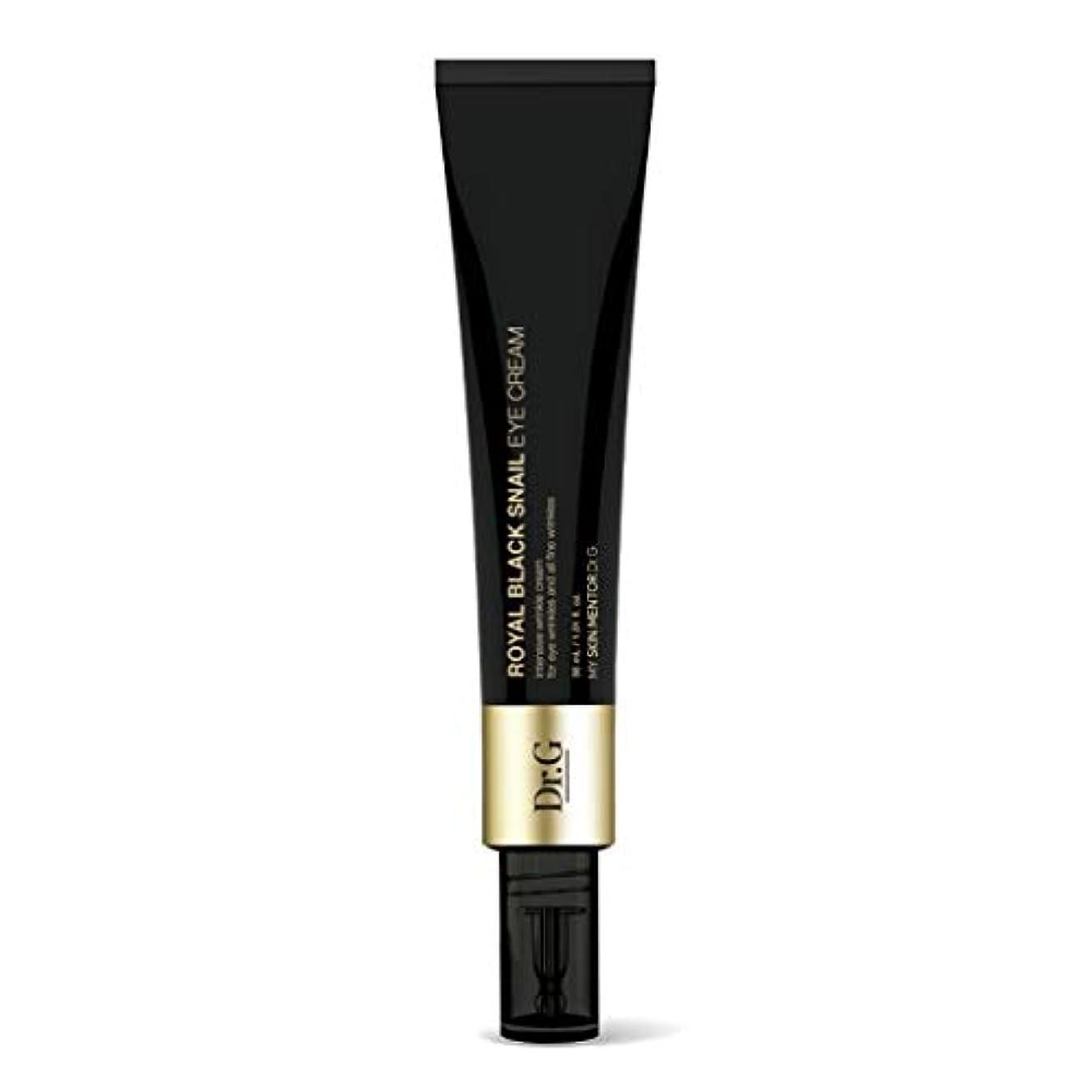 足枷着飾る応答[Dr.Gドクタージー] ロイヤルブラックスネイルアイクリーム 30ml / Royal Black Snail Eye Cream