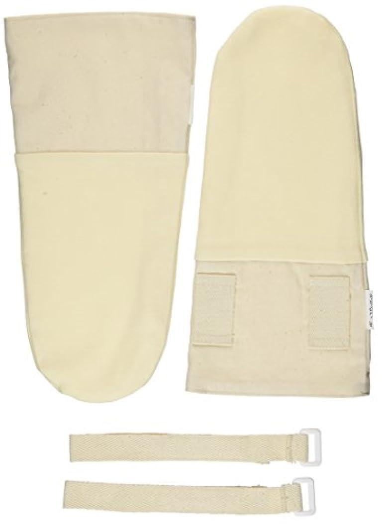栄養強制筋肉の寝るときかかない手袋 フリーサイズ[大人用]