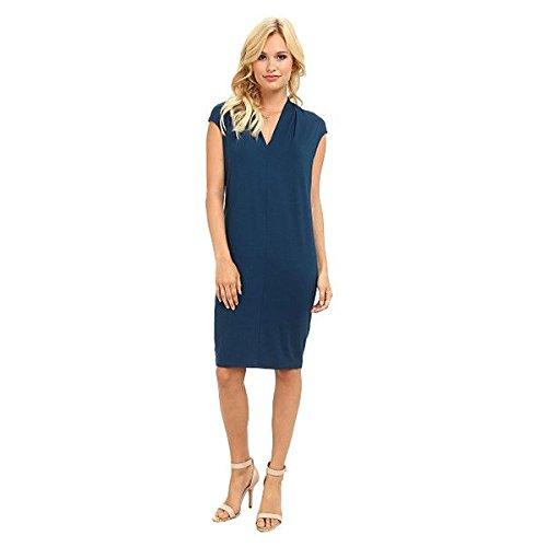 (スリードッツ) Three Dots レディース ドレス パーティドレス V-Neck Seamed Dress 並行輸入品