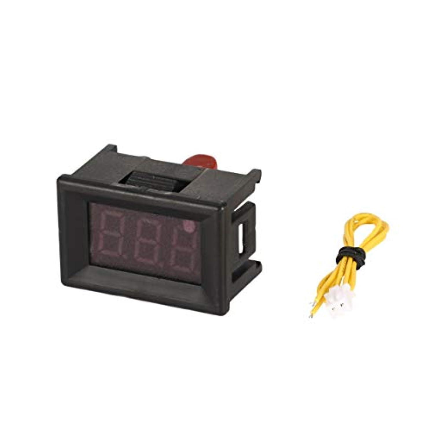 仮定、想定。推測うまトマト4PCS 70-380Vは、パネル電圧計電圧計ボルトテスターオートカーLEDディスプレイ