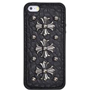 PLATA iPhone SE / 5s / 5 ケース パンク スタッズ ケース 【 04 】 IP5-6100-04