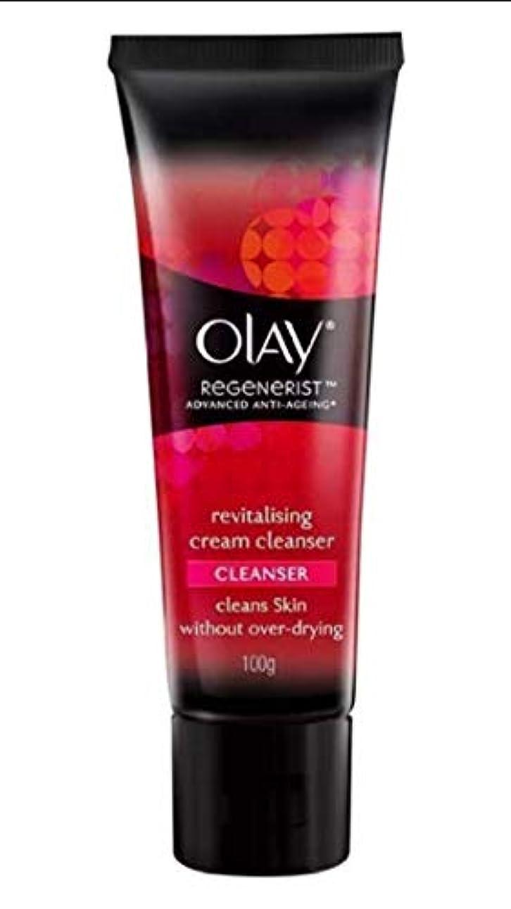 古い窒素とティームOLAY REGENERIST Revitalising cream CLEANSER 100g [並行輸入品]