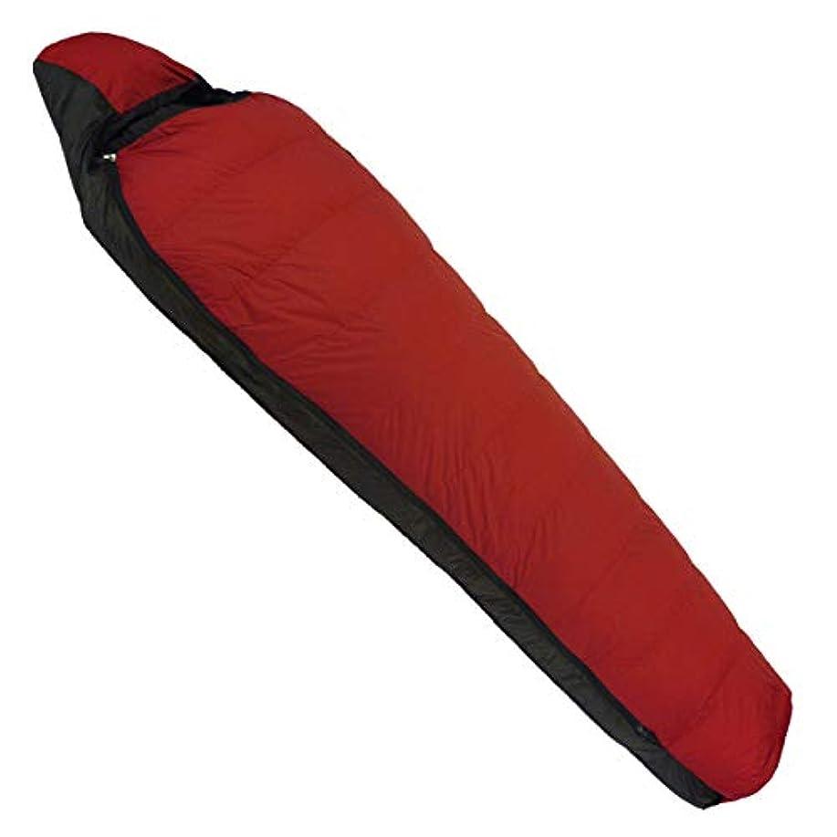 NANGA(ナンガ) 寝袋 アウトレット訳ありダウンシュラフ450STD 最低使用温度-8度 カーマイン 右ジッパー