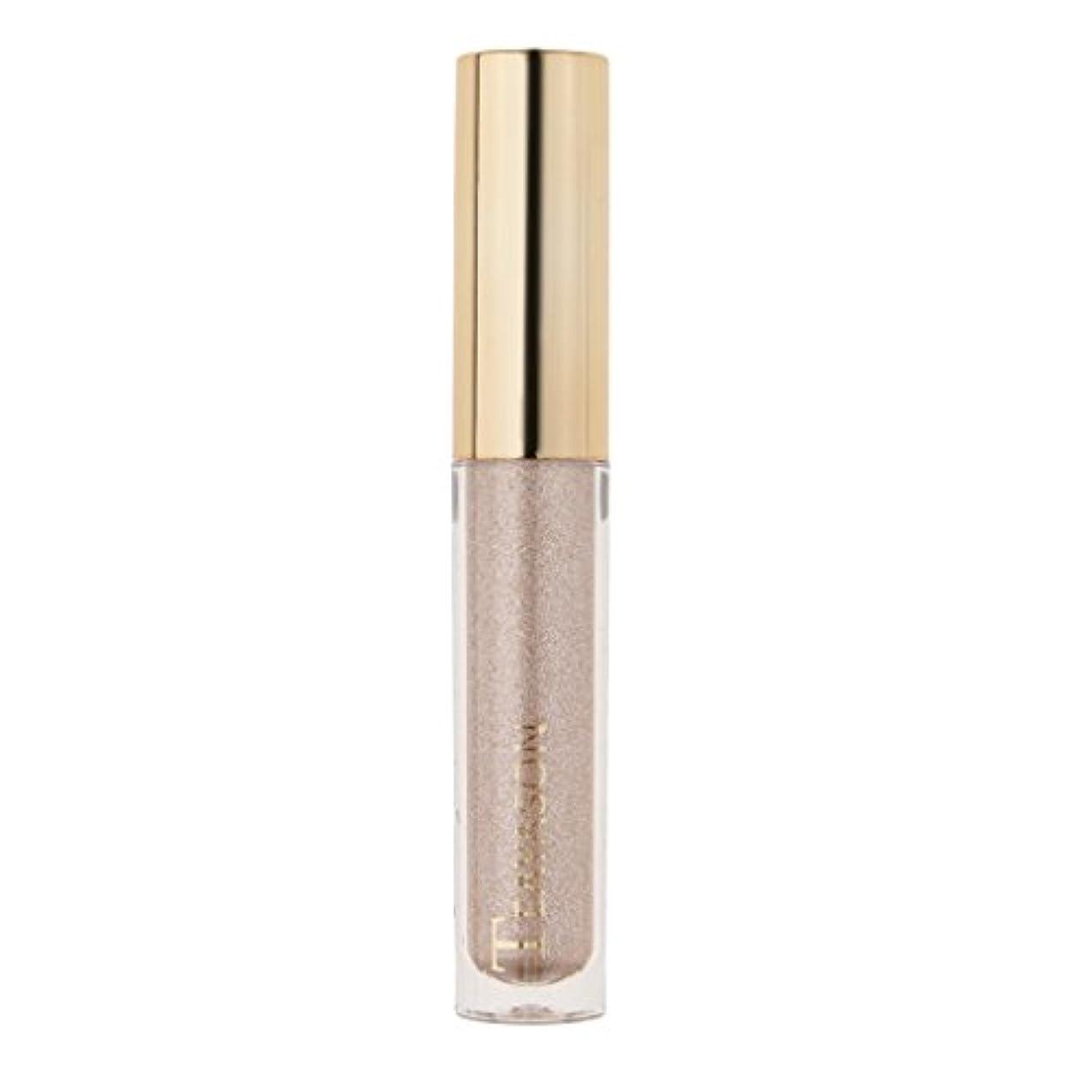 ベーシック重量ボリューム8色液体アイシャドーキラキラシマー化粧品顔料長期持続性 - 4#