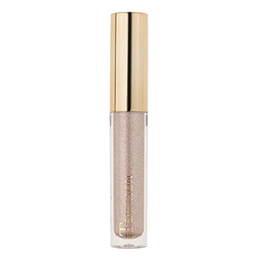 賞賛炭水化物距離8色液体アイシャドーキラキラシマー化粧品顔料長期持続性 - 4#