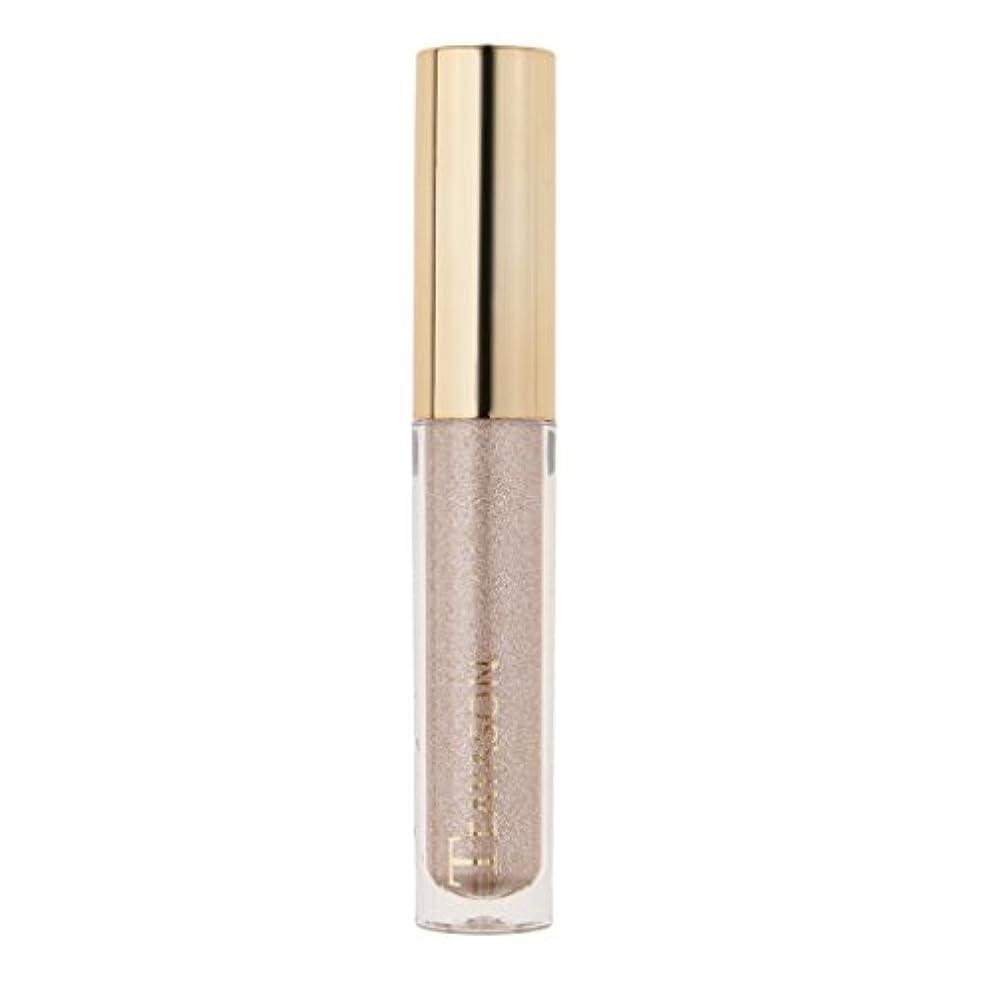 ひも素敵なかけがえのない8色液体アイシャドーキラキラシマー化粧品顔料長期持続性 - 4#