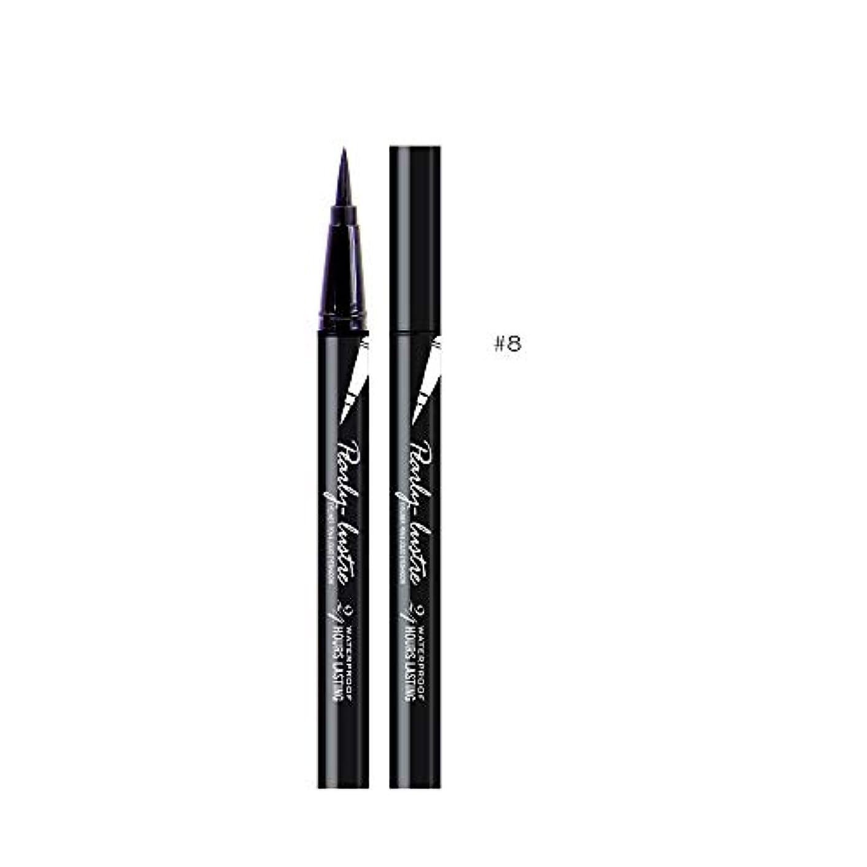 驚くばかり批評記憶美容黒防水アイライナーリキッドアイライナーペン鉛筆メイク化粧品