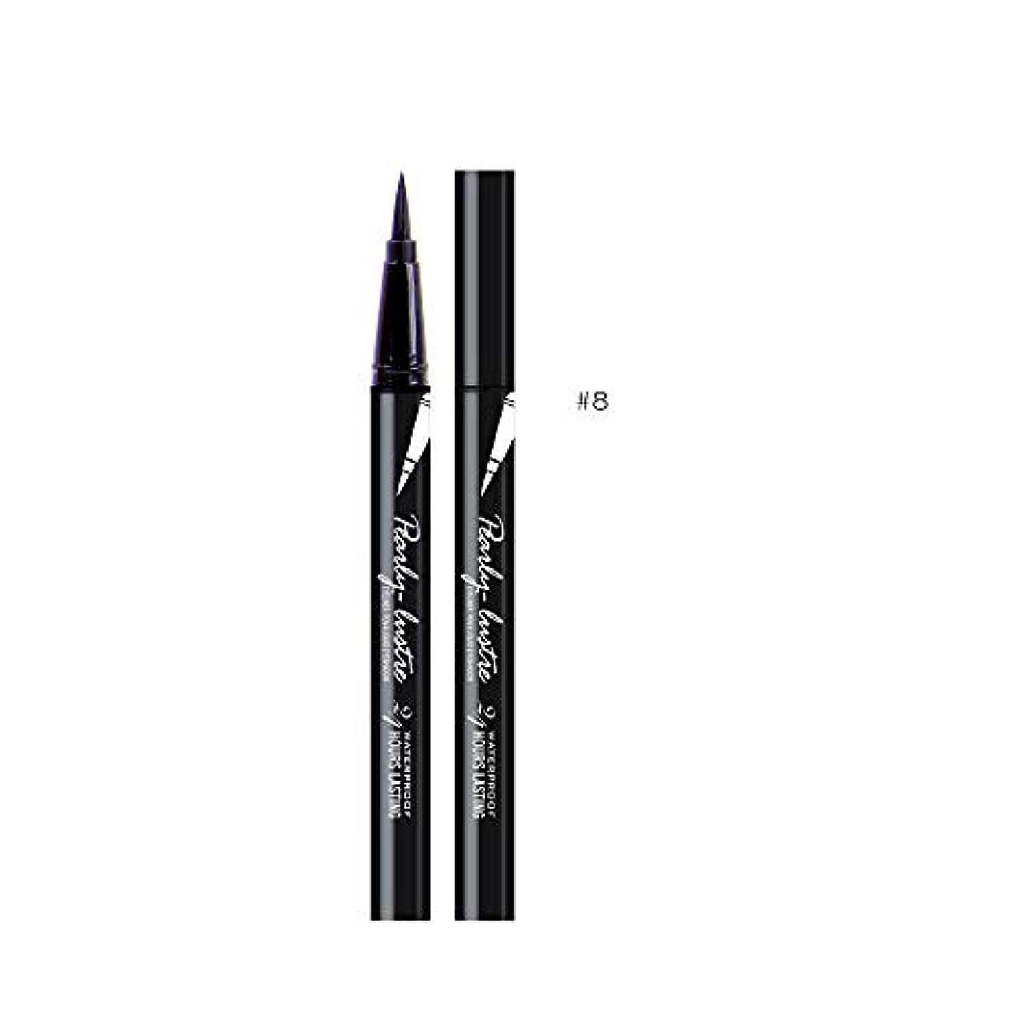 グッゲンハイム美術館相互接続リル美容黒防水アイライナーリキッドアイライナーペン鉛筆メイク化粧品