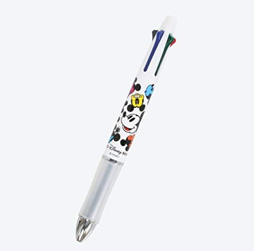 ミッキーマウス ステーショナリー シャープペン&ボールペン4色 (黒・赤・青・緑) (フェイス柄) ...