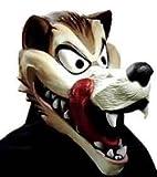 コスプレ・マスク赤ずきんちゃんのオオカミ 狼 ウルフ 大人用マスク